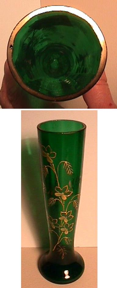 gl vase with a lid with Green Gold Vase on A French Wheel Carved Cameo Glass Vase By 5607758 Details further Vintage White Glass Bartlett Collins Gay as well Two Austrian Iridescent Red Glass Vases The 5910667 Details moreover 45 furthermore 1984 Shirley Temple Classics Figurine.